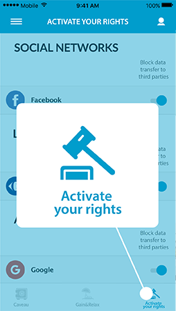 Activate your rights